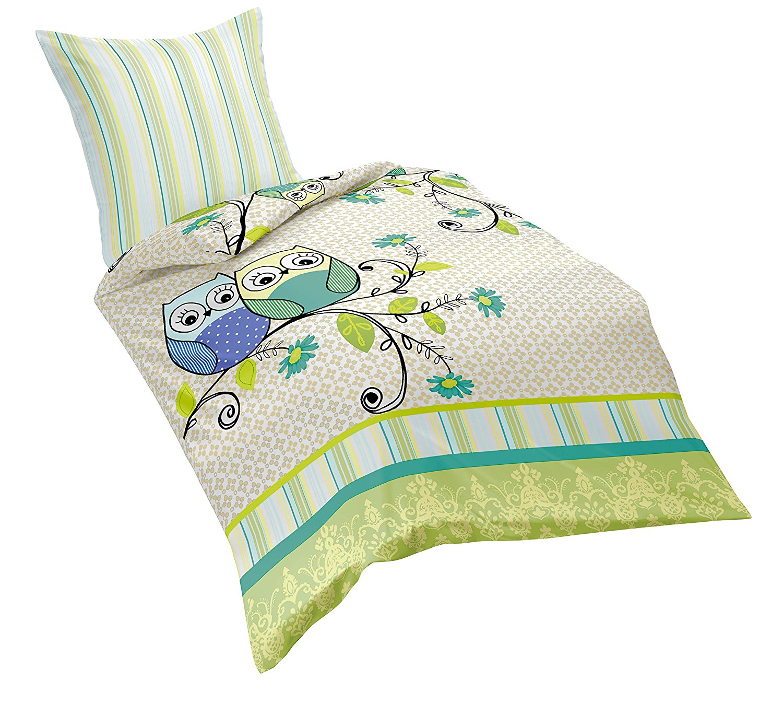 s e eulen aus renforce riva von fleuresse bettw sche. Black Bedroom Furniture Sets. Home Design Ideas