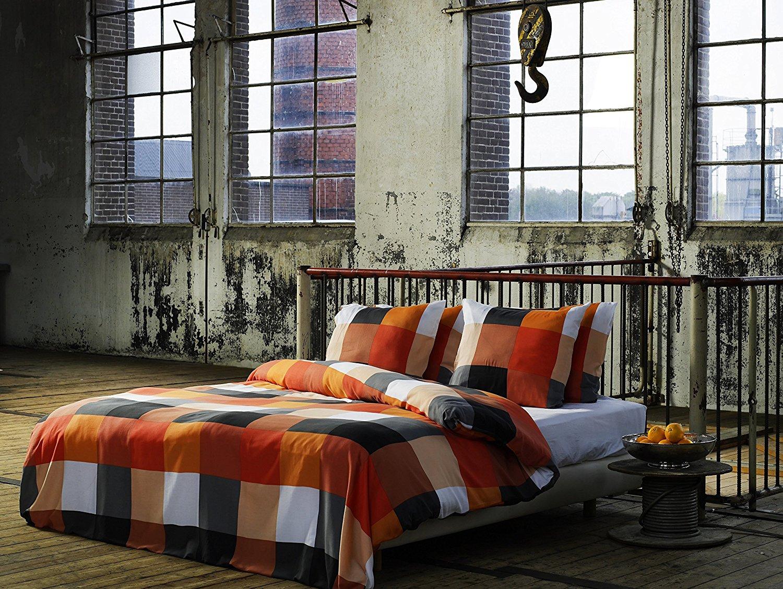 karo rian bettw sche aus renforce von et rea bettw sche. Black Bedroom Furniture Sets. Home Design Ideas