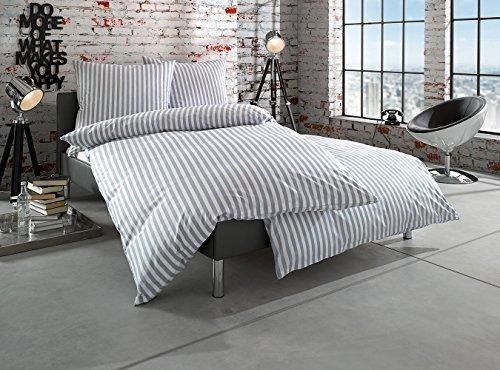 h bsche bettw sche aus batist grau 135x200 von bettwaesche mit stil bettw sche. Black Bedroom Furniture Sets. Home Design Ideas