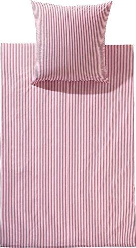Hübsche Bettwäsche aus Batist - weiß 135x200 von Brennet