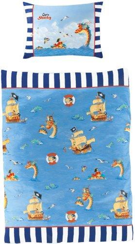 Kuschelige Bettwäsche Aus Baumwolle Blau 100x135 Von Captn Sharky