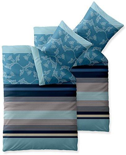 sch ne bettw sche aus baumwolle blau 135x200 von aqua textil bettw sche. Black Bedroom Furniture Sets. Home Design Ideas