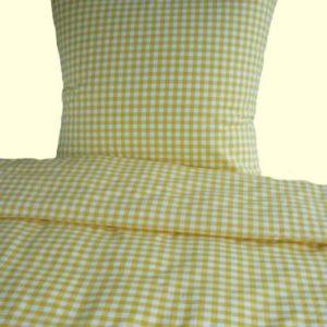 Hübsche Bettwäsche aus Baumwolle - gelb 135x200 von Bettendreams