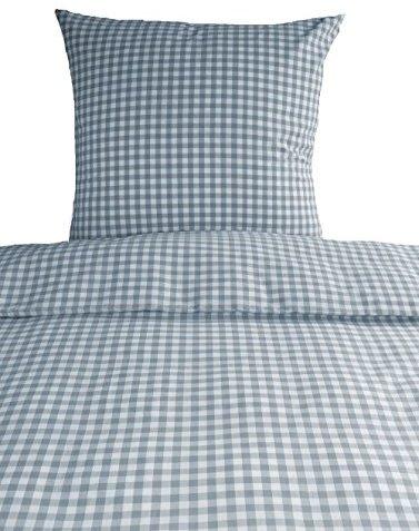 traumhafte bettw sche aus baumwolle grau 155x220 von. Black Bedroom Furniture Sets. Home Design Ideas