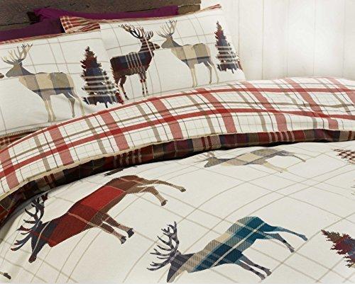 traumhafte bettw sche aus baumwolle rot 135x200 von elinens bettw sche. Black Bedroom Furniture Sets. Home Design Ideas