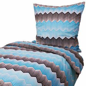 Kuschelige Bettwäsche aus Baumwolle - schwarz 135x200 von Hans-Textil-Shop