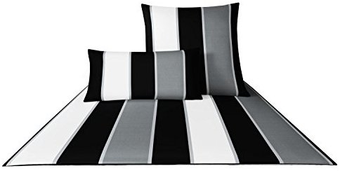sch ne bettw sche aus baumwolle schwarz 155x200 von joop bettw sche. Black Bedroom Furniture Sets. Home Design Ideas