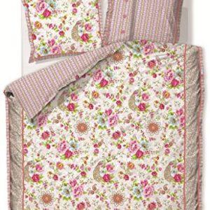 Traumhafte Bettwäsche aus Baumwolle - weiß 135x200 von PiP Studio