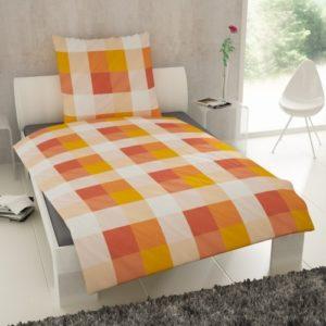 Kuschelige Bettwäsche aus Baumwolle - weiß 155x220 von Etérea