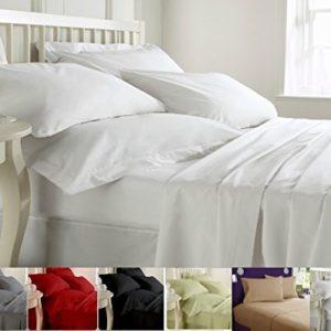 Traumhafte Bettwäsche aus Baumwolle - weiß 200x200 von MAS