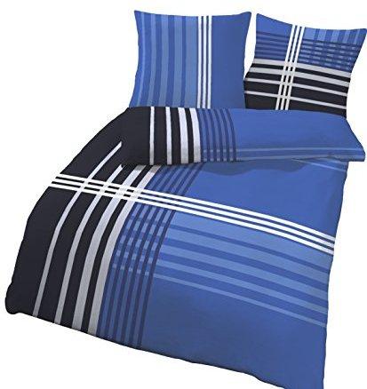 kuschelige bettw sche aus biber blau 135x200 von soma. Black Bedroom Furniture Sets. Home Design Ideas