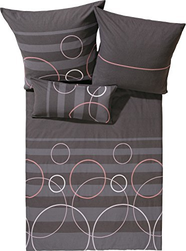 Traumhafte Bettwäsche aus Biber - braun 135x200 von Erwin Müller