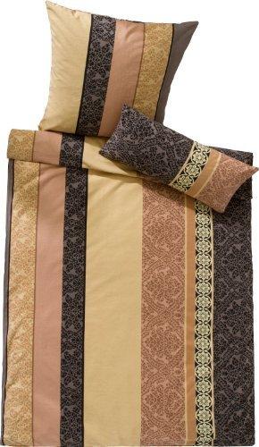 traumhafte bettw sche aus biber braun 155x200 von. Black Bedroom Furniture Sets. Home Design Ideas