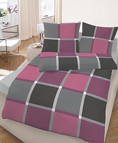 kuschelige bettw sche aus biber grau 135x200 von ido. Black Bedroom Furniture Sets. Home Design Ideas