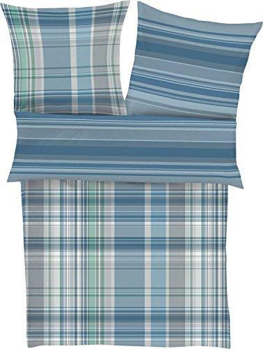 sch ne bettw sche aus flanell blau 135x200 von bugatti bettw sche. Black Bedroom Furniture Sets. Home Design Ideas