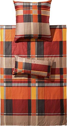 kuschelige bettw sche aus flanell braun 135x200 von erwin m ller bettw sche. Black Bedroom Furniture Sets. Home Design Ideas