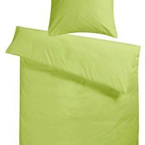 Hübsche Bettwäsche aus Flanell - grün 200x200 von Carpe Sonno