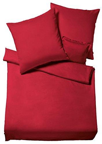 sch ne bettw sche aus flanell rot 220x240 von fleuresse. Black Bedroom Furniture Sets. Home Design Ideas