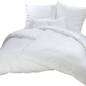 Schöne Bettwäsche aus Flanell - weiß 155x200 von Carpe Sonno