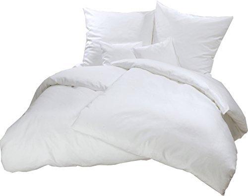 traumhafte bettw sche aus flanell wei 200x220 von carpe sonno bettw sche. Black Bedroom Furniture Sets. Home Design Ideas