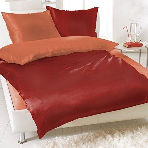 sch ne bettw sche aus fleece rot 135x200 von daspasstgut. Black Bedroom Furniture Sets. Home Design Ideas