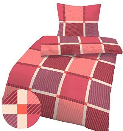 sch ne bettw sche aus fleece rot 135x200 von ido bettw sche. Black Bedroom Furniture Sets. Home Design Ideas