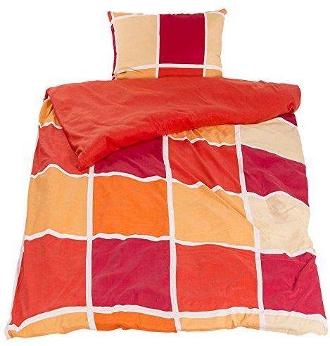 h bsche bettw sche aus fleece rot 140x200 von wometo. Black Bedroom Furniture Sets. Home Design Ideas