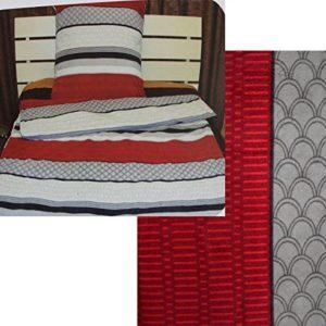 Schöne Bettwäsche aus Fleece - schwarz 135x200 von KH-Haushaltshandel