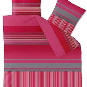 Hübsche Bettwäsche aus Fleece - schwarz 200x200 von CelinaTex