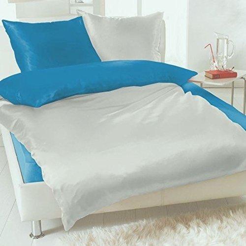 sch ne bettw sche aus fleece t rkis 135x200 von bertels. Black Bedroom Furniture Sets. Home Design Ideas