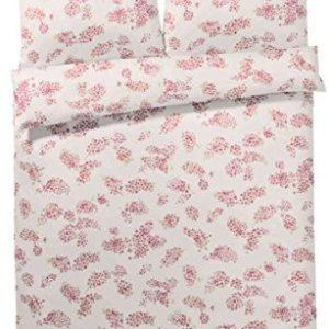 Schöne Bettwäsche aus Jersey - Rosen rosa 135x200 von elegante
