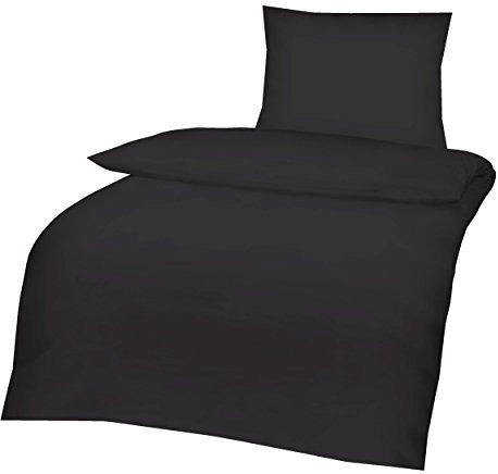 traumhafte bettw sche aus linon schwarz 135x200 von aminata kids bettw sche. Black Bedroom Furniture Sets. Home Design Ideas