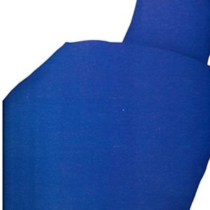 Hübsche Bettwäsche aus Microfaser - blau 135x200 von Leonado Vicenti