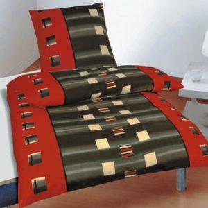 Traumhafte Bettwäsche aus Microfaser - grau 135x200 von Magita