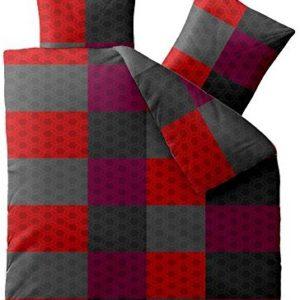 Traumhafte Bettwäsche aus Microfaser - grau 200x220 von aqua-textil