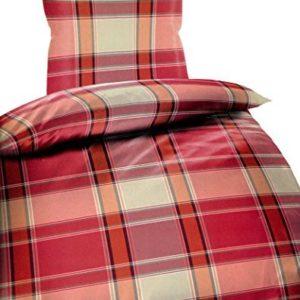 Kuschelige Bettwäsche aus Microfaser - rosa 135x200 von Bertels