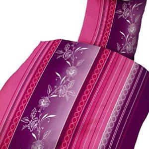 Traumhafte Bettwäsche aus Microfaser - rosa 135x200 von Leonado Vicenti