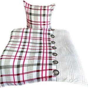 Kuschelige Bettwäsche aus Microfaser - rosa 135x200 von Leonado Vicenti