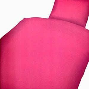 Hübsche Bettwäsche aus Microfaser - rosa 135x200 von Leonado Vicenti