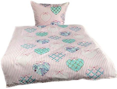 h bsche bettw sche aus microfaser rosa 135x200 von leonado vicenti bettw sche. Black Bedroom Furniture Sets. Home Design Ideas