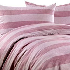 Schöne Bettwäsche aus Microfaser - rosa 200x200 von Leonado Vicenti