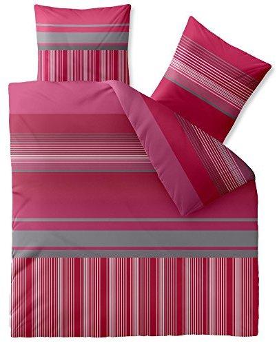 kuschelige bettw sche aus microfaser rosa 200x220 von. Black Bedroom Furniture Sets. Home Design Ideas