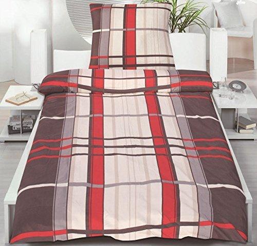 sch ne bettw sche aus microfaser rot 135x200 von magita bettw sche. Black Bedroom Furniture Sets. Home Design Ideas