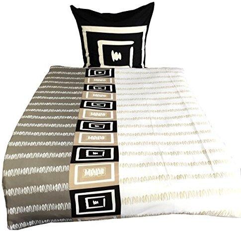 kuschelige bettw sche aus microfaser schwarz 135x200 von leonado vicenti bettw sche. Black Bedroom Furniture Sets. Home Design Ideas