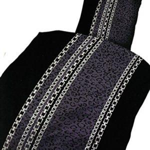 Kuschelige Bettwäsche aus Microfaser - schwarz 135x200 von Leonado Vicenti