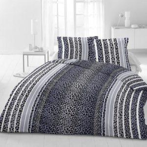 Kuschelige Bettwäsche aus Microfaser - schwarz 135x200 von Magita