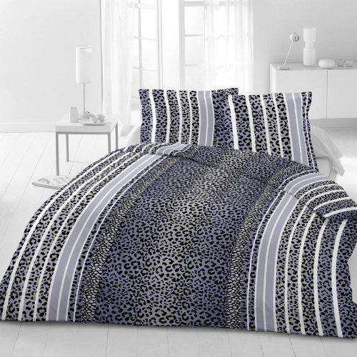 kuschelige bettw sche aus microfaser schwarz 135x200 von magita bettw sche. Black Bedroom Furniture Sets. Home Design Ideas