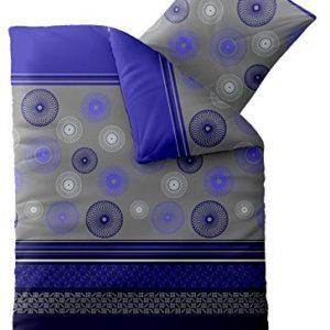 Kuschelige Bettwäsche aus Microfaser - schwarz 155x220 von aqua-textil