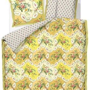Hübsche Bettwäsche aus Perkal - gelb 135x200 von PiP Studio