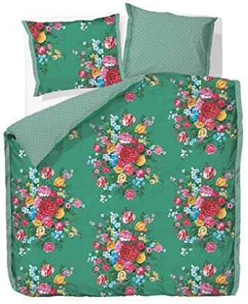 Hübsche Bettwäsche aus Perkal - grün 135x200 von PiP Studio